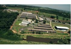 Imagem aérea do campus II da Faculdade de Jaguariúna