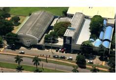 Imagem aérea do campus I da Faculdade de Jaguariúna