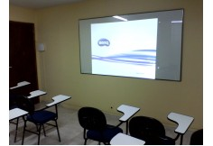 Aulas expositivas com data show