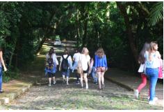 Circulação de estudantes no campus.
